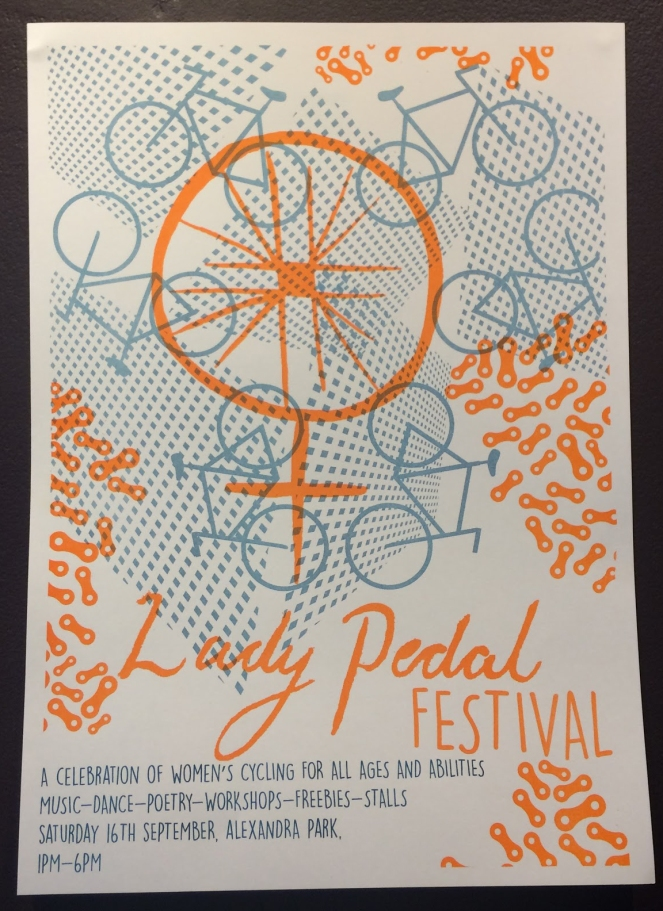 Lady Pedal Poster 2017